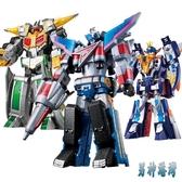 兒童禮物巨神戰擊隊玩具兒童機器人男孩2太陽戰擊王星球天星合體金剛變形LXY6619【男神港灣】