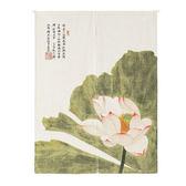 HONEY COMB 中國古典綠之蓮 棉麻門簾 風水簾GT-3608