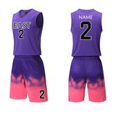 籃球服球衣套裝背心訓練服球衣套裝速乾透氣籃球服球衣(快速出貨)