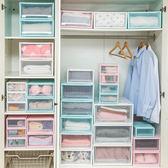 特大號抽屜式衣服收納箱 透明塑料衣柜收納盒多層內衣儲物整理箱 森活雜貨