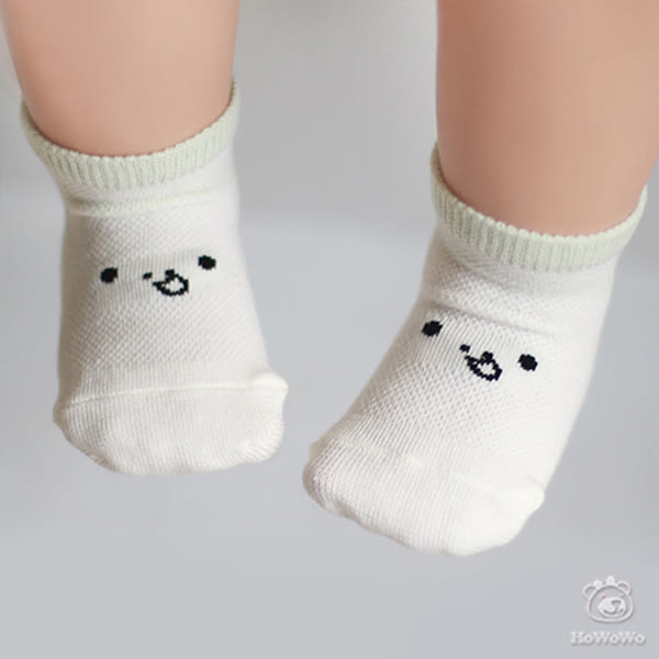 保暖寶寶襪 可愛表情立體嬰兒襪 0-4歲 CA1217 好娃娃