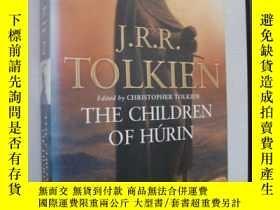 二手書博民逛書店The罕見Children of Hurin 彩色插圖本Y857
