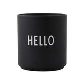 DL 雷射刻紋骨瓷杯 HELLO