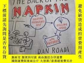 二手書博民逛書店The罕見Back of the Napkin (Expanded Edition) 精裝【實物圖片】Y253