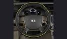 【車王汽車精品百貨】Land Rover Discovery Range Rover 真皮精品 方向盤套 方向盤皮套