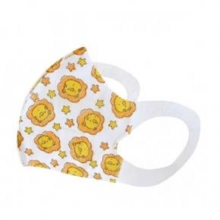 小獅王辛巴simba 兒童3D立體造型口罩 5入