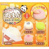 全套5款【日本正版】捏捏樂 擬真肉包 吊飾 P2 扭蛋 轉蛋 軟軟 Squishy J.DREAM - 853537