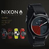【限時下殺價】NIXON A344-1167 THE QUAD 美式休閒  NIXON 熱賣中!