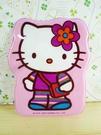 【震撼精品百貨】Hello Kitty 凱蒂貓~KITTY車票套-粉花