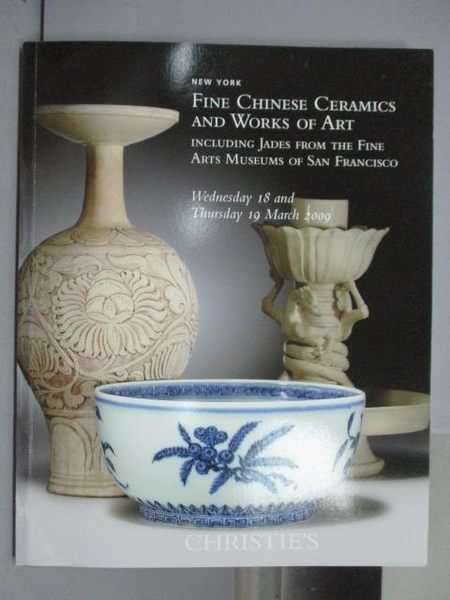 【書寶二手書T3/收藏_PNI】Christie s_Fine Chinese Ceramics…Francisco_2