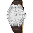 JAGUAR DAILY CLASS 經典機械錶-銀x咖啡/44mm J670/1