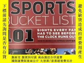 二手書博民逛書店The罕見Sports Bucket List: 101 Sig