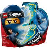 【LEGO 樂高積木】Ninjago忍者系列-阿光 閃電飛龍大師 LT-70646