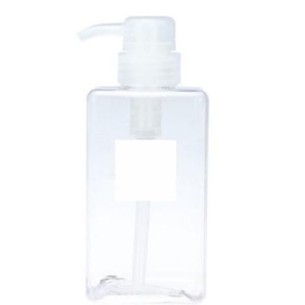 Qmishop 按壓方形分裝罐 450ml 乳液分装瓶 按壓罐 洗手乳瓶 洗髮精瓶【J3008】
