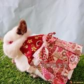 和風武士服牽引繩 兔子牽引繩 兔子衣服 寵物牽引繩【小獅子】