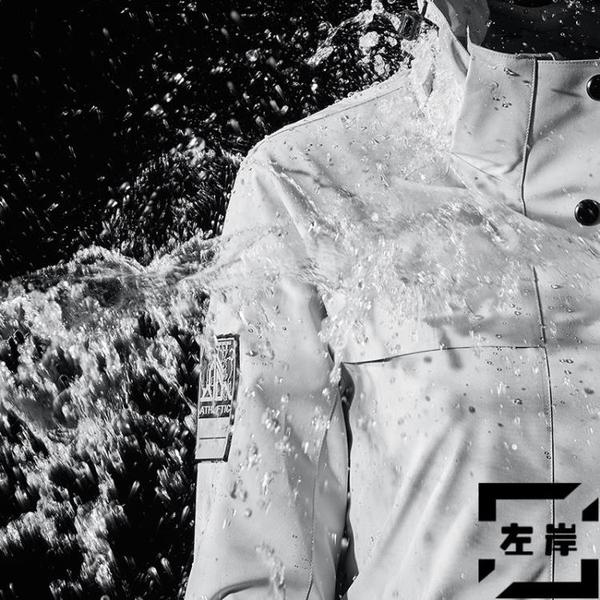 戶外衝鋒衣男三合一可拆卸防風防水外套登山服女【左岸男裝】