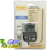[104美國直購] Polder 烤箱溫度計 B000P6FLOY Graphite Digital In-Oven Thermometer Timer _ T17