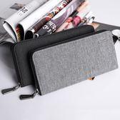 長夾 手拿包 可放5.5吋手機 手機包 多卡位 錢包 男生 男士 皮夾 錢夾