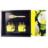 【養蜂人家】完熟哈密瓜禮盒(壯圍鄉哈密瓜蜂蜜280g *2瓶)