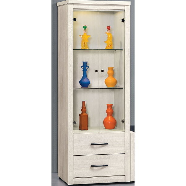 展示櫃 客廳櫃 高低櫃 CV-409-5 艾拉2.17尺展示櫃【大眾家居舘】