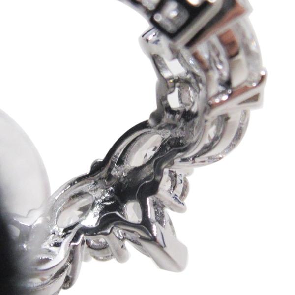 SWAROVSKI 白色水晶造型耳針式耳環 Lady Hoop Pierced Earrings 5390189