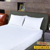 HOLA 全密封式防水防蟎保潔墊枕用二入