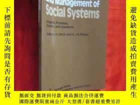 二手書博民逛書店Self-Organization罕見and Management of Social... ( 16开) 【详见