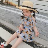 兒童洋裝 女寶寶洋氣裙子夏一歲嬰兒童公主裙0-1-3-4歲5雪紡洋裝女童夏裝  提拉米蘇