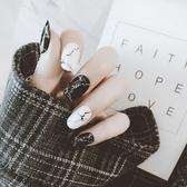 指甲貼紙防水持久美甲貼紙全貼韓國3d指甲貼片美甲成品