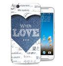 ♥ 俏魔女美人館 ♥HTC One X9 {牛仔愛心*水晶硬殼} 手機殼 手機套 保護殼