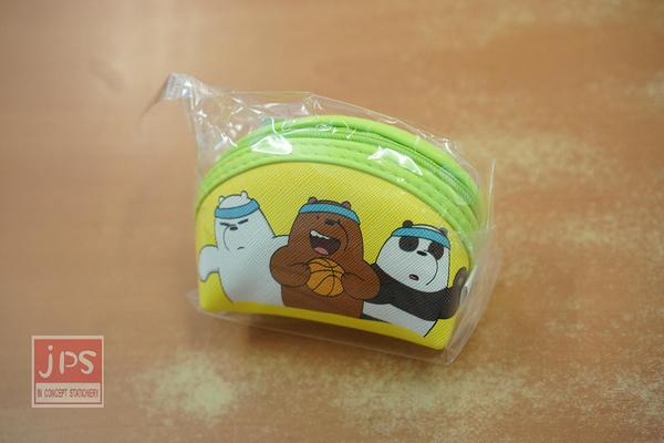 熊熊遇見你 QQ 零錢包 黃