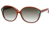 MARC BY MARC JACOBS 太陽眼鏡(橘紅色)