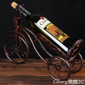 紅酒架擺件葡萄酒架酒柜擺設家居裝飾酒架創意現代酒瓶架歐式簡約榮耀 新品