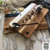 砧板 北歐 大理石板巖拼接相思木砧板廚房面包吐司披薩板水果蔬菜切板 宜品居家
