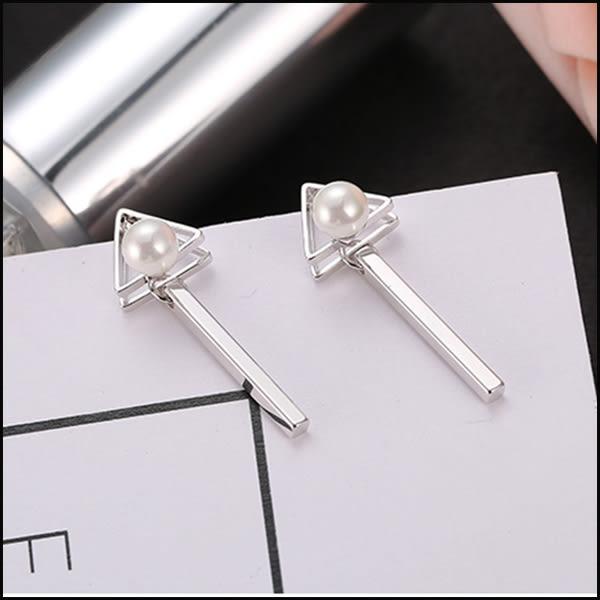 銀女款耳釘 可愛流行耳飾 四爪