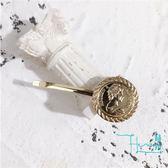 【Hera 赫拉】美人銅像錢幣髮夾