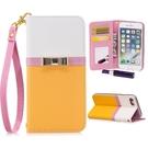 拼接撞色蘋果12 mini保護套 日韓IPhone 12翻蓋手機殼 iPhone12 Pro Max保護殼皮套 蘋果12 Pro翻蓋手機套