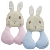 【奇哥】彼得兔透氣護頸枕(藍/粉)