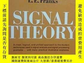 二手書博民逛書店Signal罕見Theory (information Theory Series)Y255562 L.e.