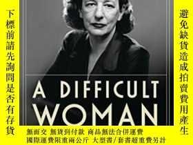 二手書博民逛書店A罕見Difficult WomanY255562 Alice Kessler-harris Bloomsbu