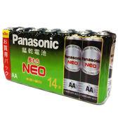 國際牌 黑錳乾電池3號 14入/組【愛買】