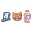 SETO CRAFT 造型磁鐵組 愛麗絲夢遊仙境 柴郡貓 3入_OC09616