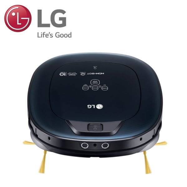 LG-變頻清潔機器人-三眼濕拖(海洋黑) VR66930VWNC ▶隨貨送日式鐵板燒(烤爐)+濾網+抹布◀