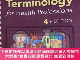 二手書博民逛書店Medical罕見Terminology for Health Professions 健康職業的醫學術語 第4版