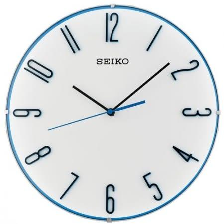 【分期0利率】SEIKO 日本 精工掛鐘 靜音 滑動式秒針 白色 全新原廠公司貨 30公分 QXA672W