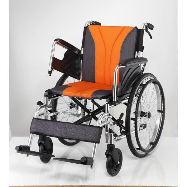 均佳 機械式輪椅 (未滅菌) JW-160 鋁合金輪椅多功能型