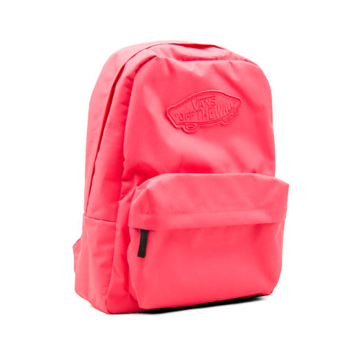 VANS 玩色造型輕便後背包 時尚潮流背包 休閒背包 蜜桃紅 482406RD