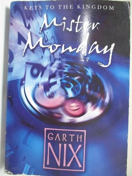 【書寶二手書T8/原文小說_HPR】Mister Monday_Garth Nix