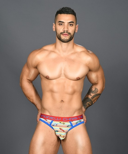【91043】美國Andrew Christian Vintage Car Brief Jock 極簡後空褲
