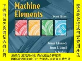 二手書博民逛書店Fundamentals罕見Of Machine ElementsY364682 Bernard J. Ham
